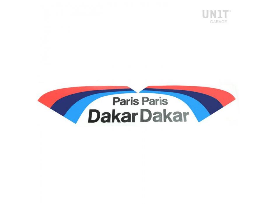 PARIS DAKAR赛车贴纸