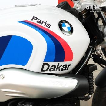 巴黎DAKAR赛车贴纸