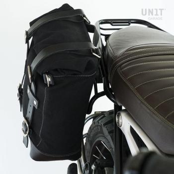 帆布侧袋+双NineT对称框架