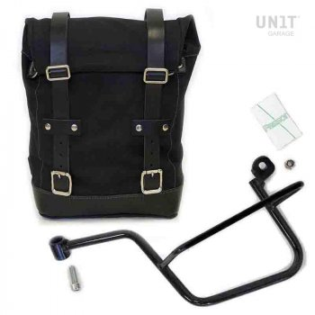帆布侧袋+ Guzzi V7 SX镜架