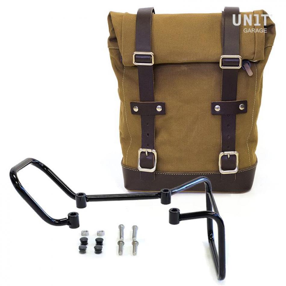 帆布侧袋+ husqvarna 401框架