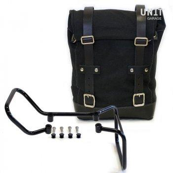 帆布侧袋+ husqvarna 701框架