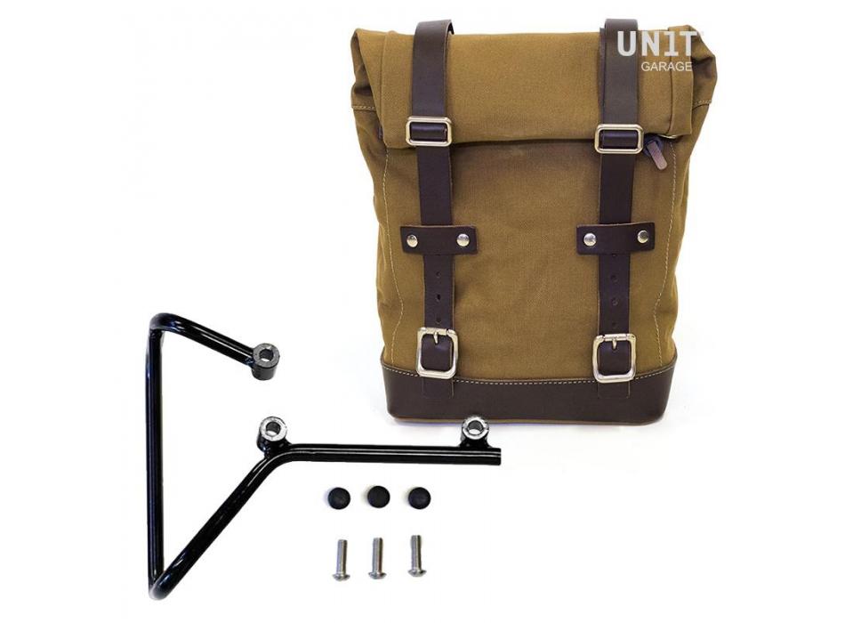 帆布侧袋+ husqvarna svartpilen 701框架