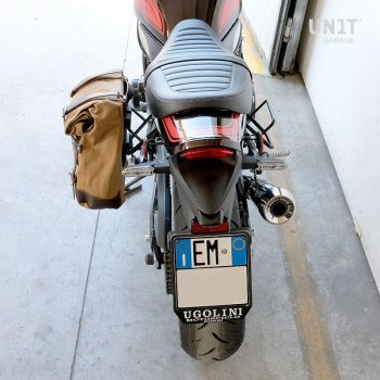 帆布侧袋+ Kawasaki Z900RS SX镜架