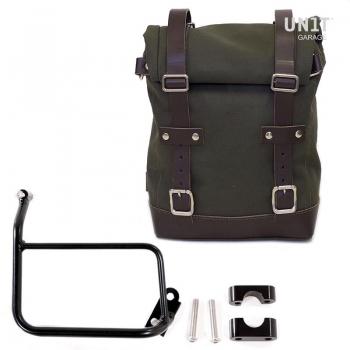 帆布侧袋+ R1200 GS框架