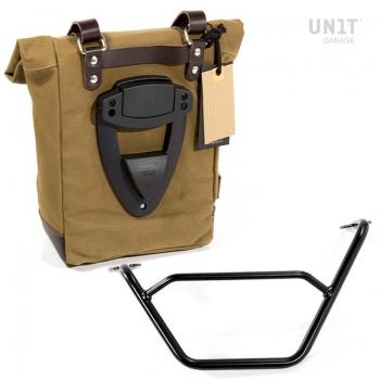 帆布侧袋+ R1200 GS LC框架