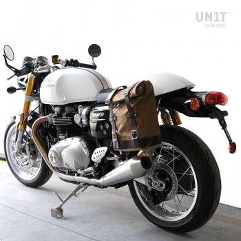 帆布侧袋+ Triumph Thruxton SX镜架