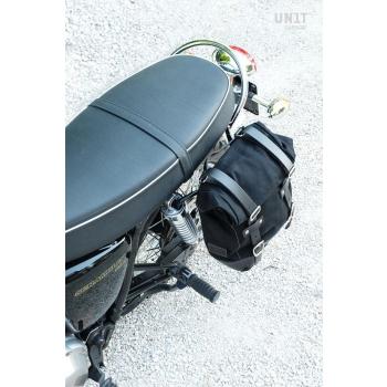 帆布侧袋+ Triumph Scrambler 900框架(2006-2017)