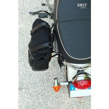 帆布侧袋+ Triumph Scrambler / Bonneville SX框架