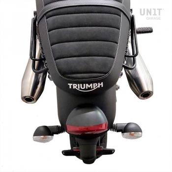 帆布侧袋+ Triumph Street Twin 900 SX车架 (2016 直到现在)