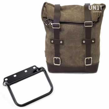 侧袋采用分体皮革+ R80 G / S框架