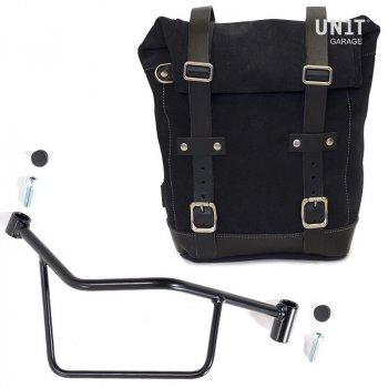 侧袋采用分体皮革+ Frame R 1200 R LC DX