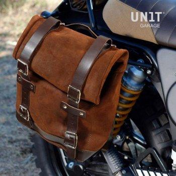 侧袋采用分体皮革+ K 75/100系列镜架