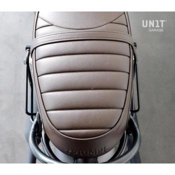 分体皮革侧袋+ Triumph T100-T120 DX框架 (2017<)