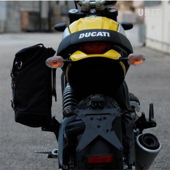 侧袋+ Ducati Scrambler框架