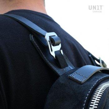 分体式皮革背心袋