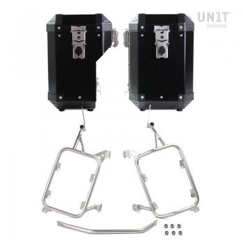 一对铝制47L + 41L Atlas手提袋,带R1200GS LC-R1250GS和ADV镜架