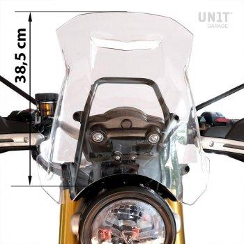 具有GPS支持的Triumph 1200 XC-XE挡风玻璃