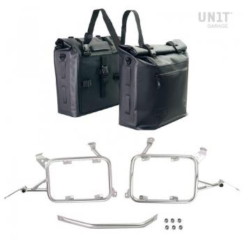 两个 Khali 侧袋,TPU 35L - 45L 带框架 R1200GS LC - R1250GS & ADV