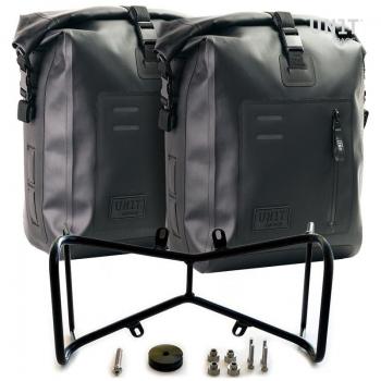 两个Khali TPU侧袋+ NineT对称双框架