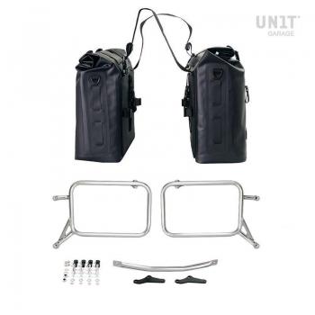 两个 Khali 侧袋采用 TPU 35L - 45L 框架 R115 GS