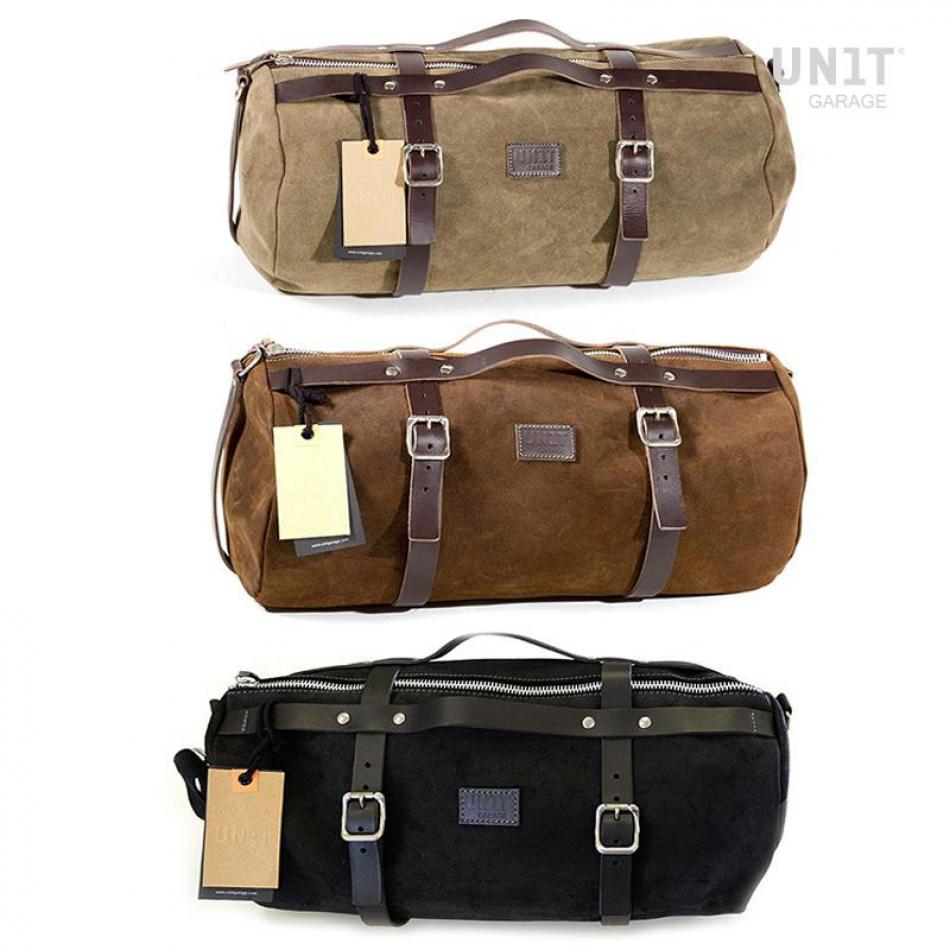 行李袋Kalahari 43L皮革分割