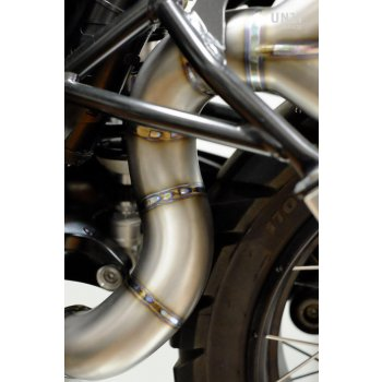 Titanium Scrambler双排气