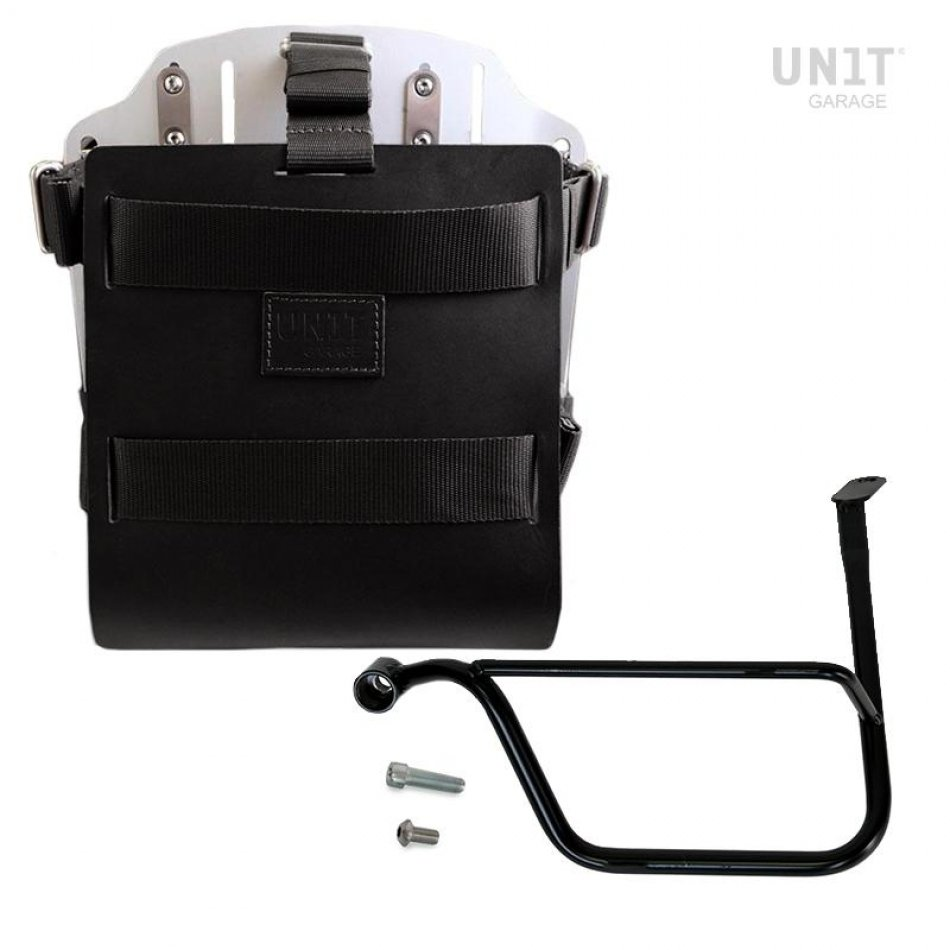 铝制袋架,带可调节皮革前部,快速接头和框架