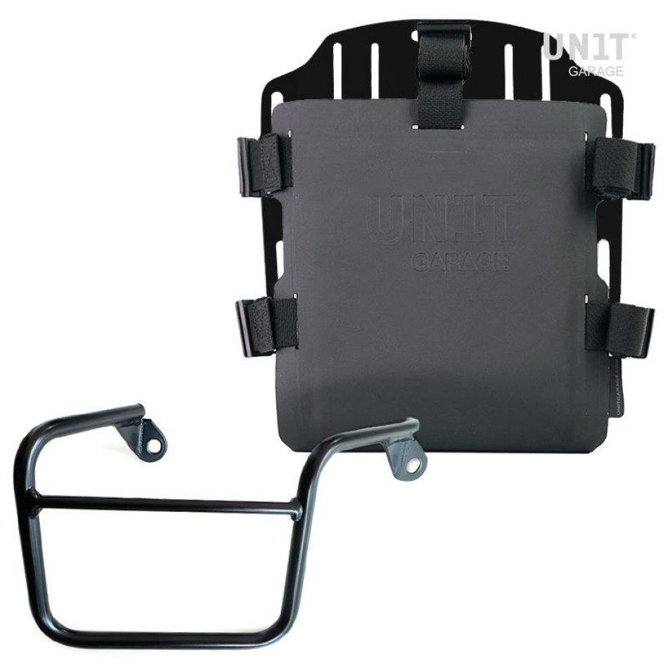 带有可调节Hypalon前部和快速接头+框架的铝制袋架