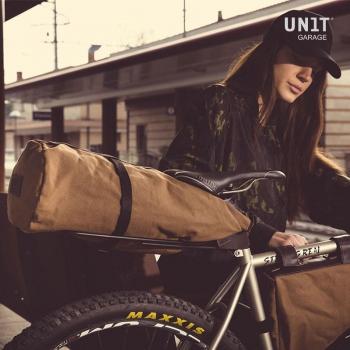 行李架,用于带皮革套的快速释放座管