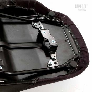 黑色皮革马鞍,R850R-R1100R帆布
