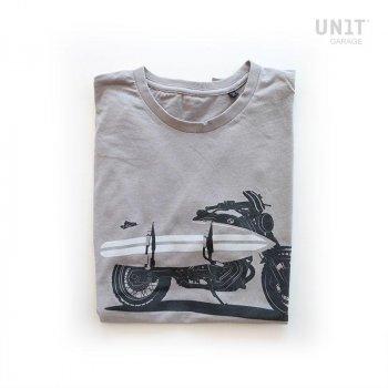 灰色车库单位T恤