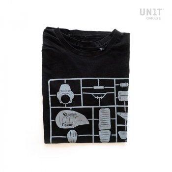 黑色车库单位T恤
